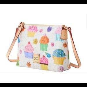 Dooney & Bourke Crossbody Pouchette White Cupcakes